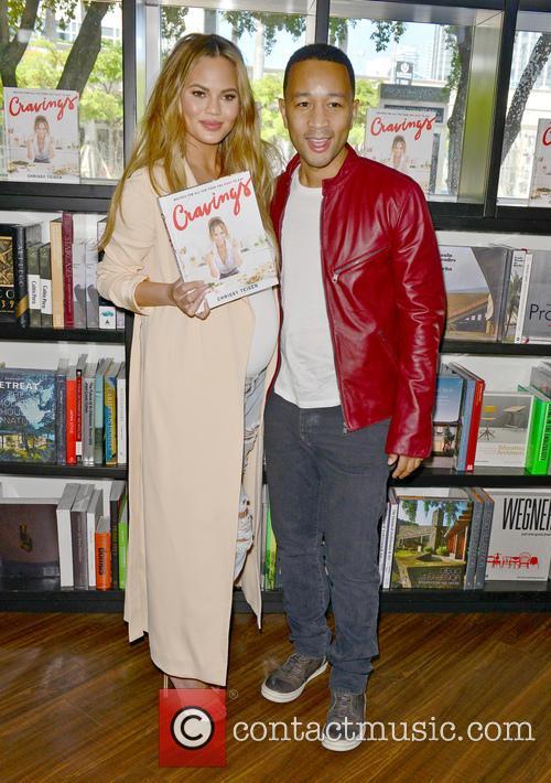 Chrissy Teigen and John Legend 6