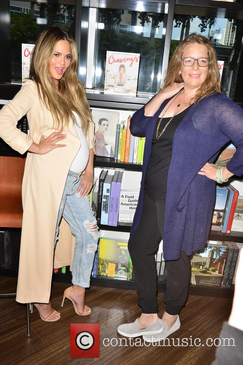 Chrissy Teigen and Adeena Sussman 11
