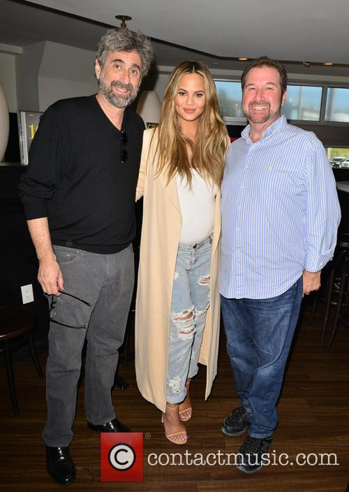 Mitchell Kaplan, Chrissy Teigen and Chef Allen Susser 1