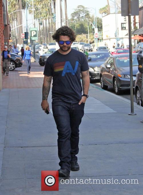 Jack Osbourne spotted out running errands in Beverly...