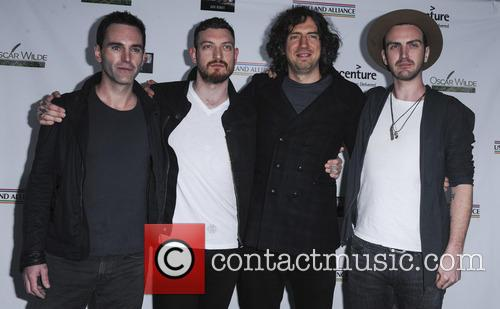 Oscar Wilde, Johnny Mcdaid, Nathan Connolly, Gary Lighbody and Paul Wilson 5