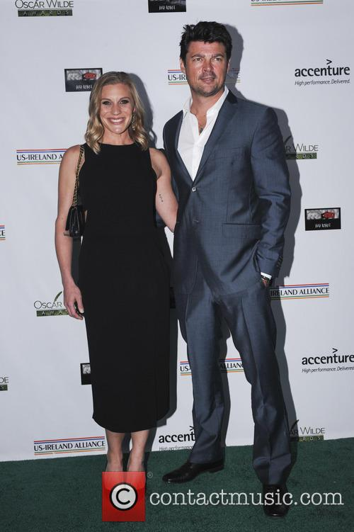 Katee Sackhoff and Karl Urban 2