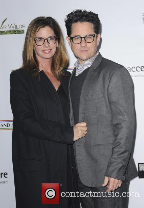 Katie Mcgrath and J.j. Abrams 1