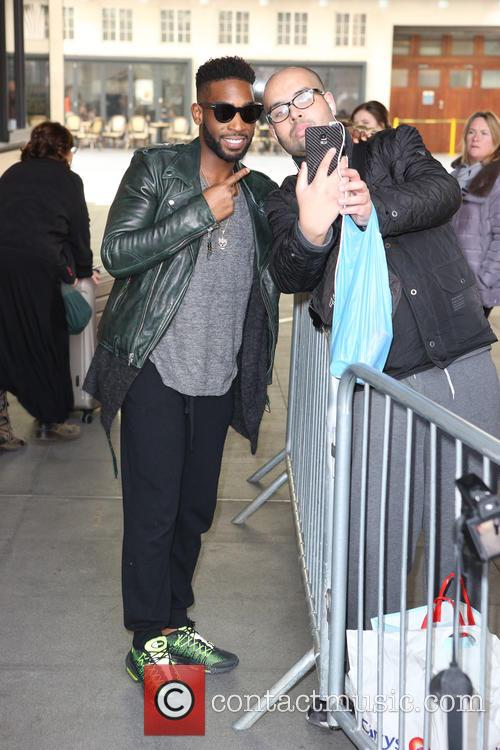Tinie Tempah leaving Radio One Studios