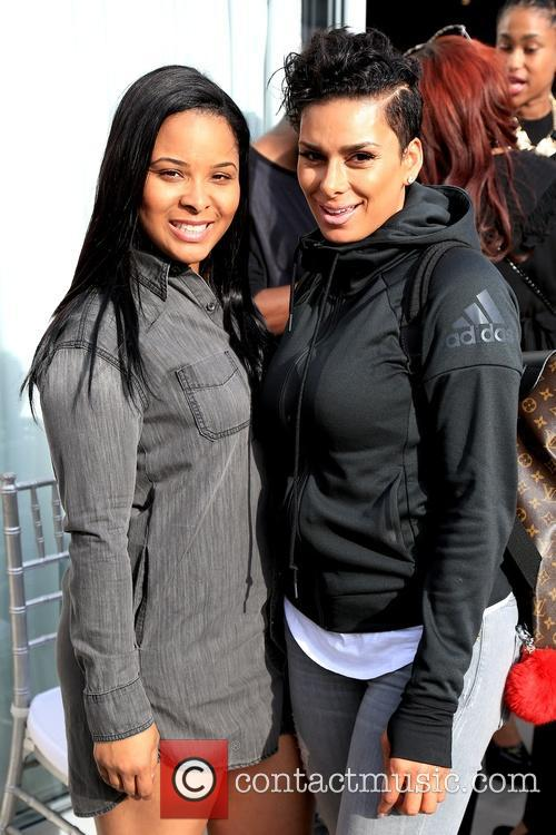 Mechelle Epps and Laura Govan out and about...