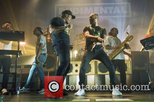 Rudimental performing at the O2 Academy