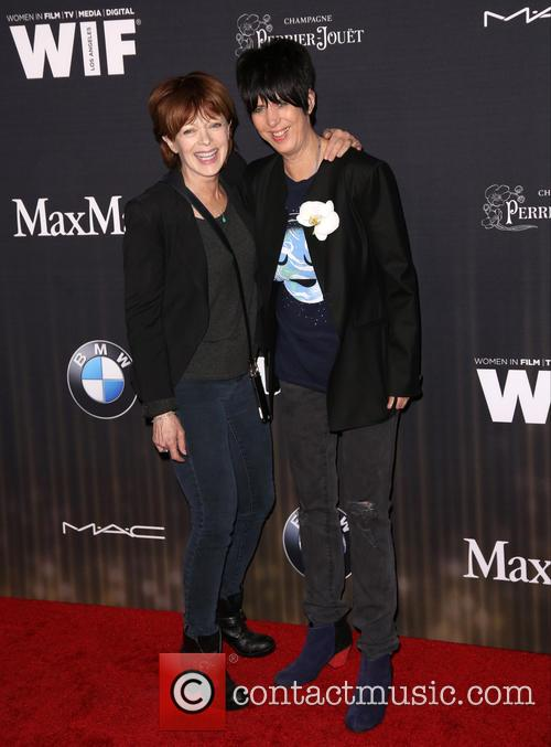 Francis Fisher and Diane Warren 1