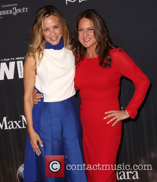 Maria Bello and Cathy Schulman 9