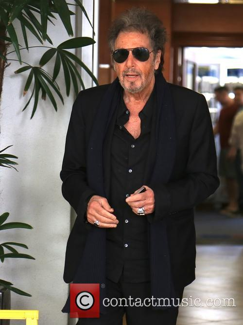 Al Pacino Sighted Leaving Medical Office in Beverly...