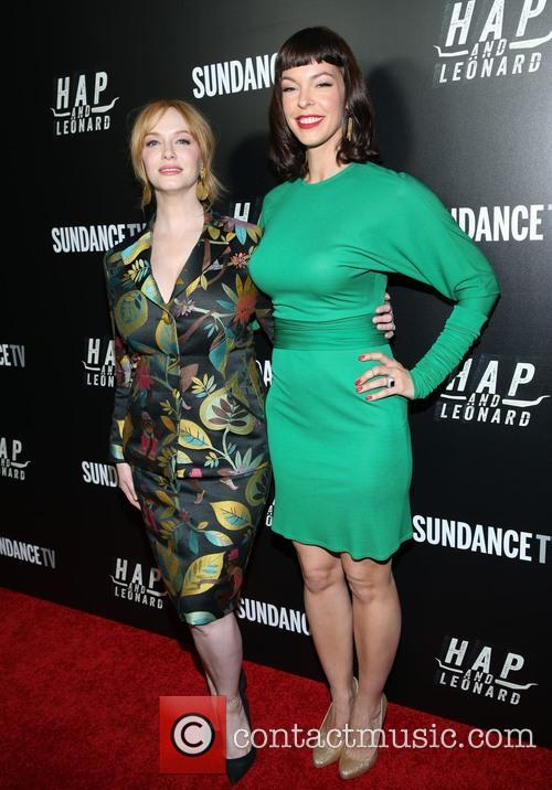 Christina Hendricks and Pollyanna Mcintosh 2