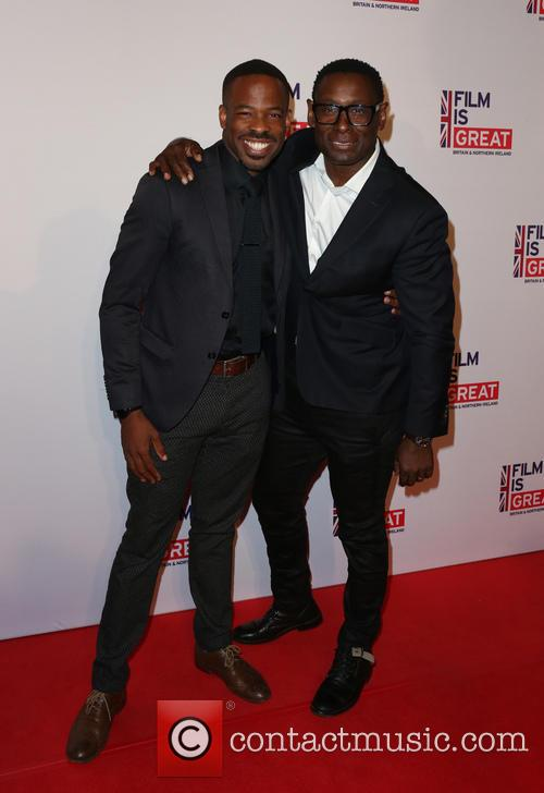 Chike Okonkwo and David Harewood 2