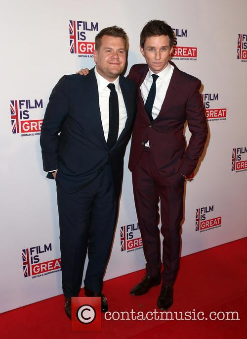 James Corden and Eddie Redmayne 2