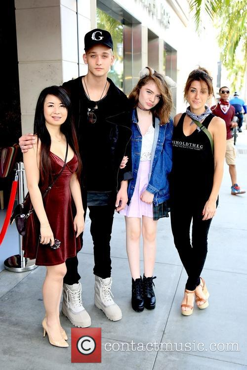 Yun Xiao, Cody Saintgnue, Madison Rothschild and Just Rosy 1