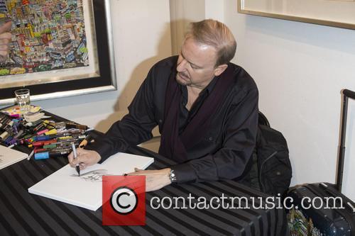 Pop artist Charles Fazzino opens his new exhibition...