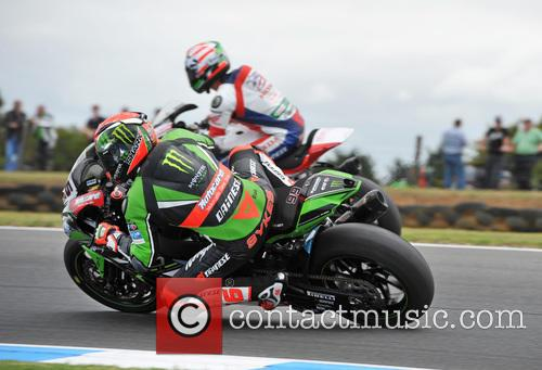 Tom Sykes and Nicky Hayden 2