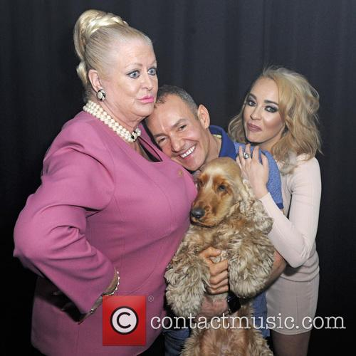 Stephanie Davis, Kim Woodburn and Jeremy Joseph 5