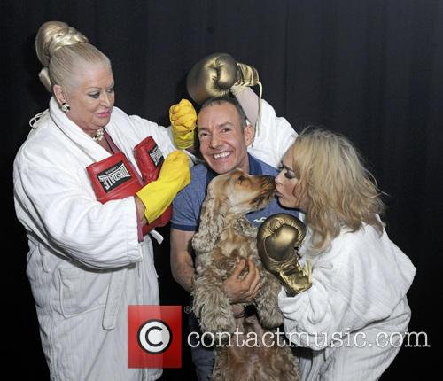 Stephanie Davis, Kim Woodburn and Jeremy Joseph 10