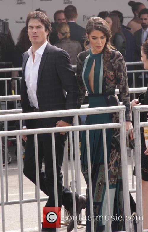 Ian Somerhalder and Nikki Reed 1