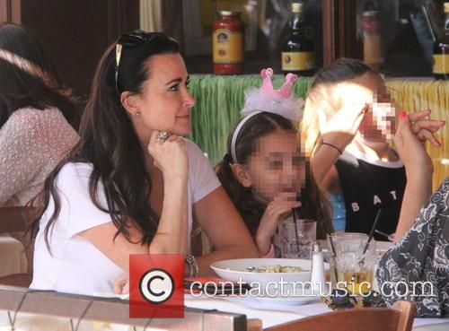 Kyle Richards and Portia Umansky 9