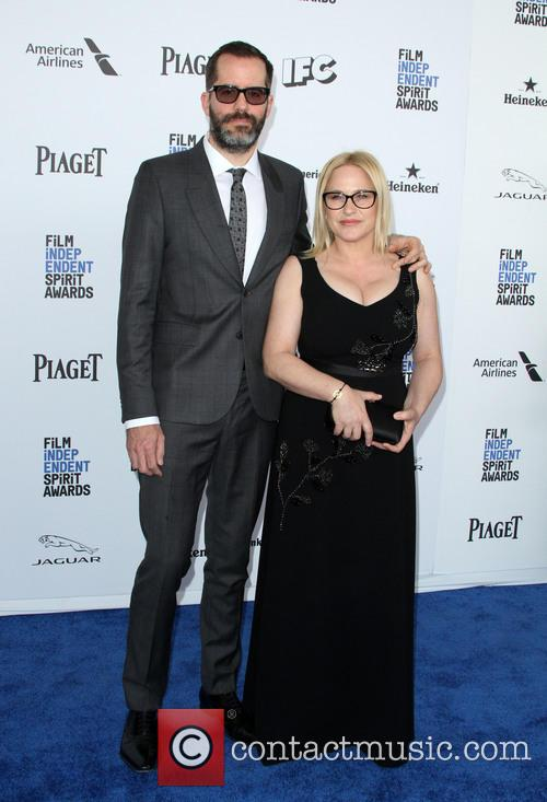 Patricia Arquette and Boyfriend Erick Whiteas 4
