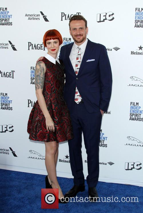Jason Segel and Girlfriend Alexis Mixter 1