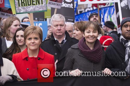 Nicola Sturgeon and Caroline Lucas 4