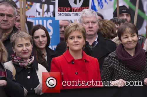 Nicola Sturgeon and Caroline Lucas 5