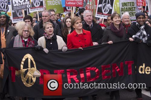 Nicola Sturgeon and Caroline Lucas 6