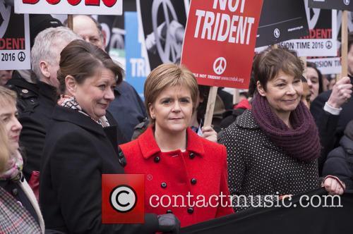 Nicola Sturgeon, Leanne Wood and Caroline Lucas 9