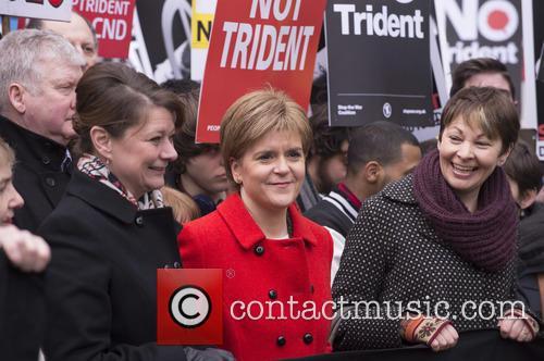 Nicola Sturgeon, Leanne Wood and Caroline Lucas 10