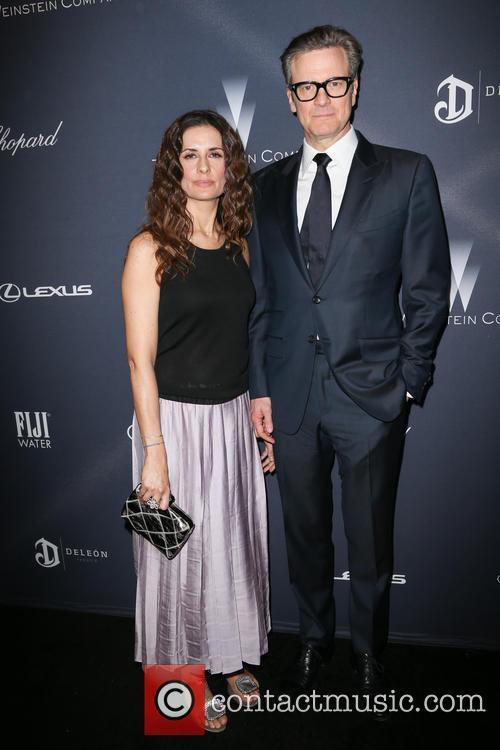Livia Giuggioli and Colin Firth 2