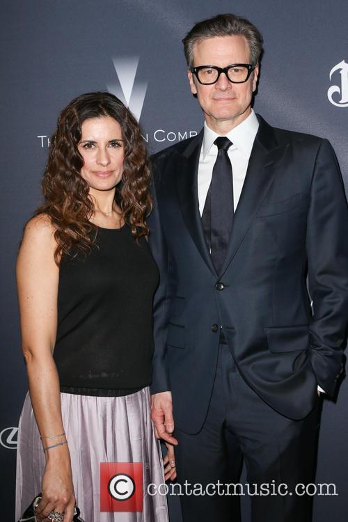 Livia Giuggioli and Colin Firth 3