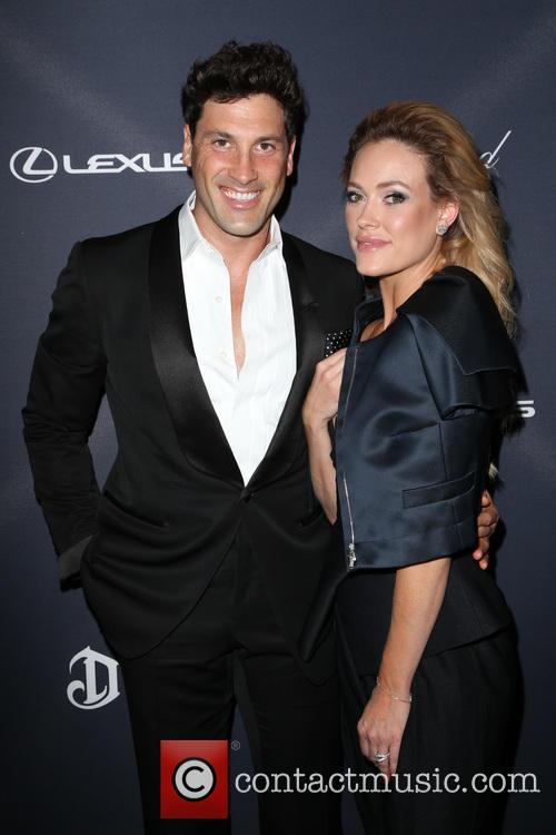 Maksim Chmerkovskiy and Peta Murgatroyd snapped at a pre-Oscars dinner