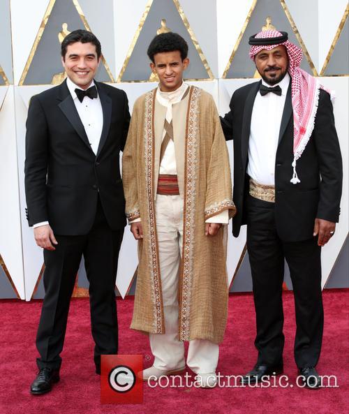 Naji Abu Nowar, Jacir Eid Al-hwietat and Hassan Mutlag Al-maraiyeh 1