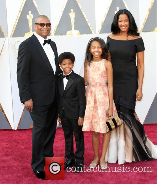 Reginald Hudlin and Family
