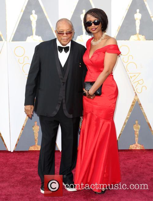 Quincy Jones and Shakira Caine 1