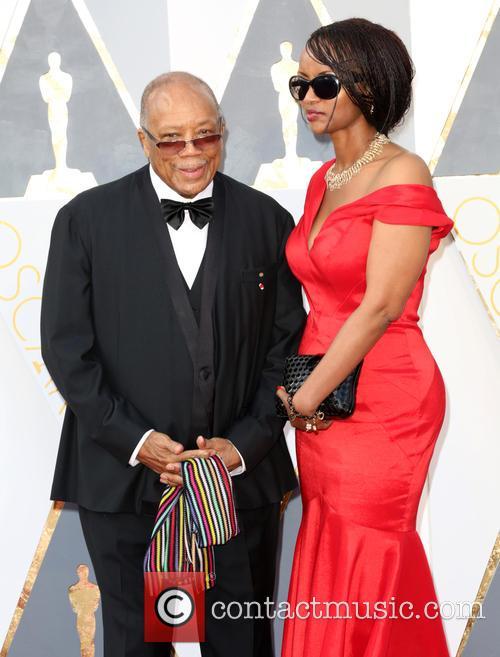 Quincy Jones and Shakira Caine 2