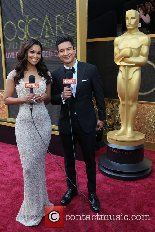 Tracey Edmonds and Mario Lopez 2