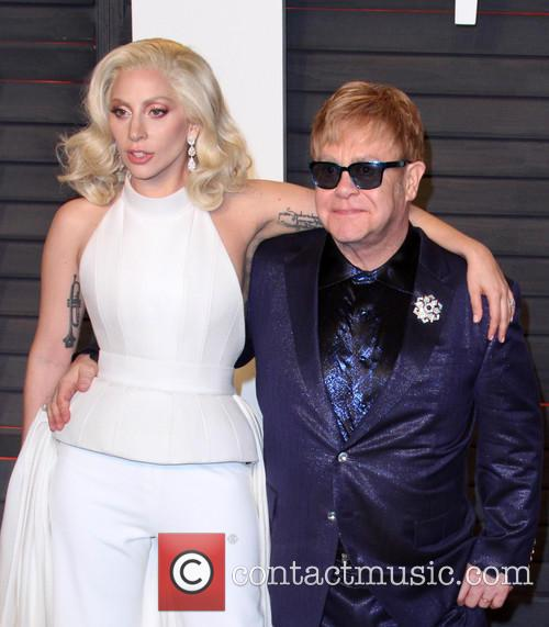 Lady Gaga and Elton John 3