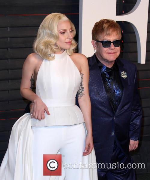 Lady Gaga and Elton John 4