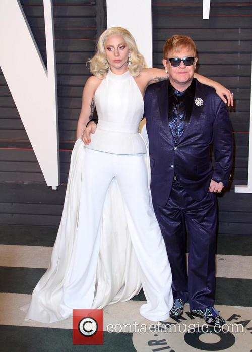 Lady Gaga and Elton John 5