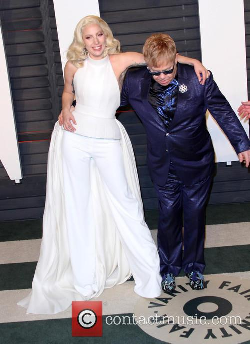 Lady Gaga and Elton John 6