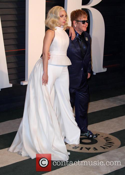 Lady Gaga and Elton John 7