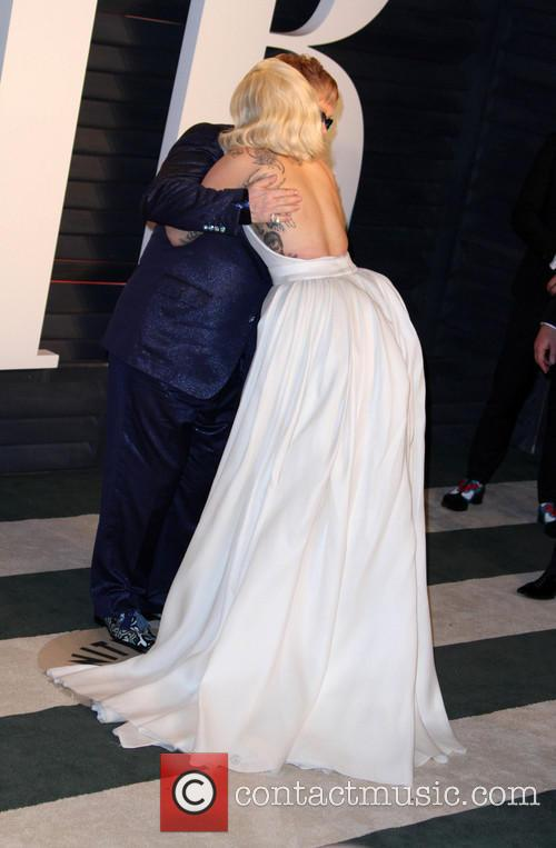 Lady Gaga and Elton John 8