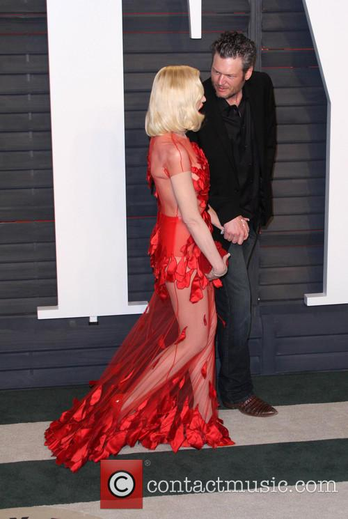 Gwen Stefani and Blake Shelton 2