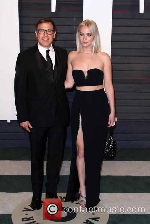 David O. Russell and Jennifer Lawrence 1