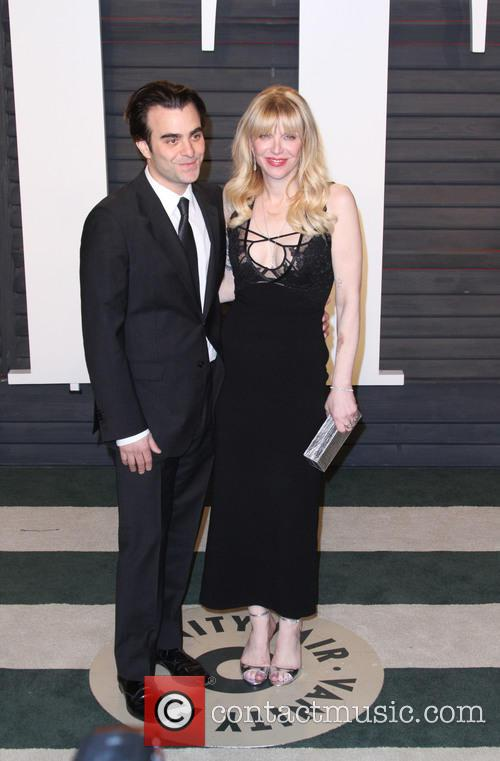 Nicholas Jarecki and Courtney Love 1