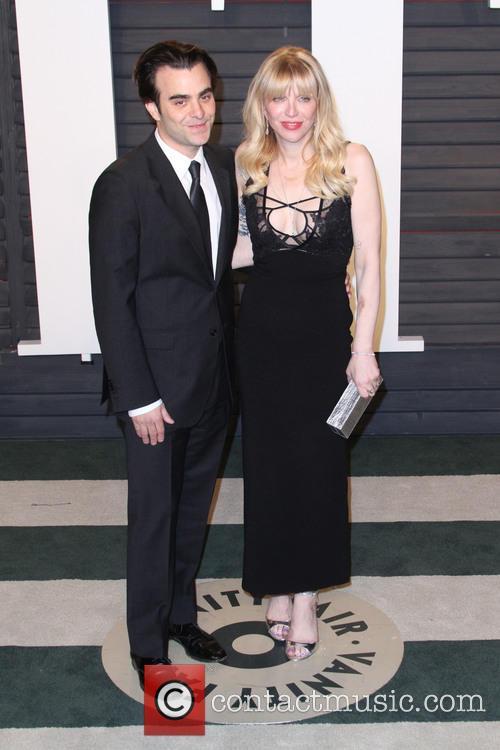 Nicholas Jarecki and Courtney Love 2