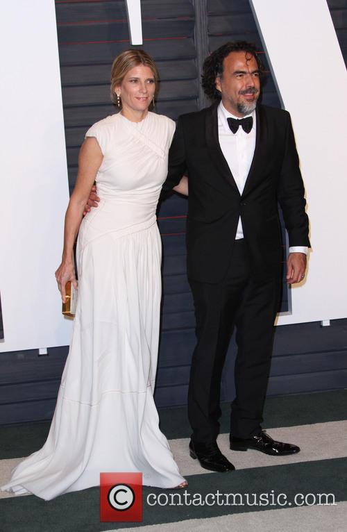 Alejandro Gonzalez Inarritu and Maria Eladia Hagerman 2