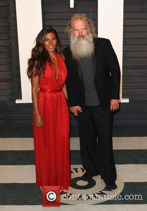 Mourielle Herrera and Rick Rubin 1